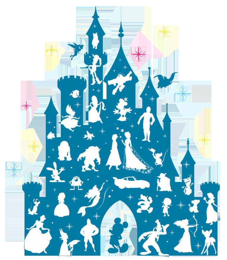 Disneyland clipart blue castle, Disneyland blue castle ...