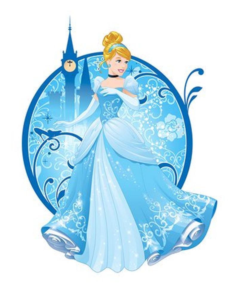 Princess wall decor disney. Cinderella clipart cinderella theme