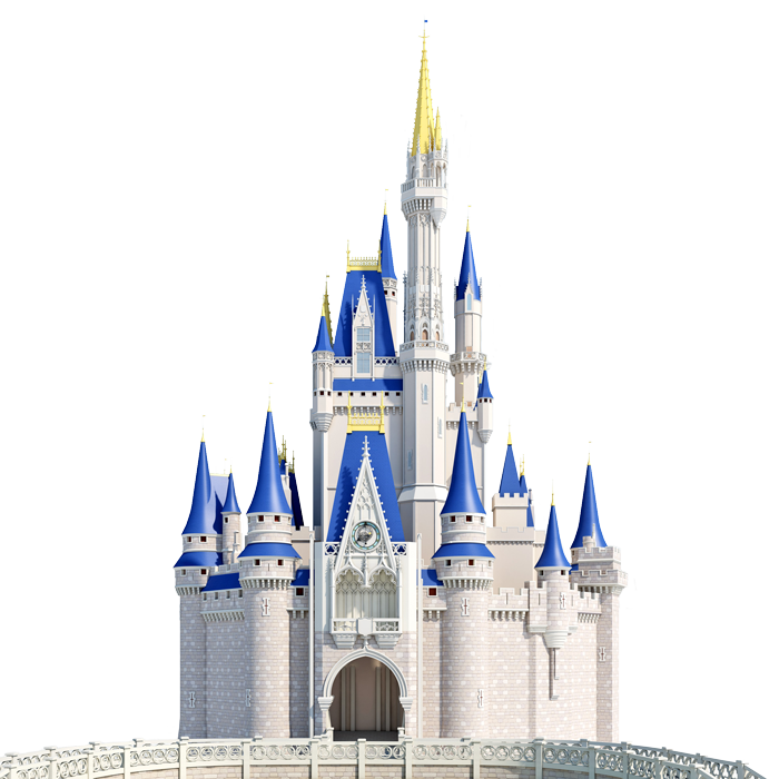 Cinderellacastle png fairy houses. Clipart castle mickey mouse