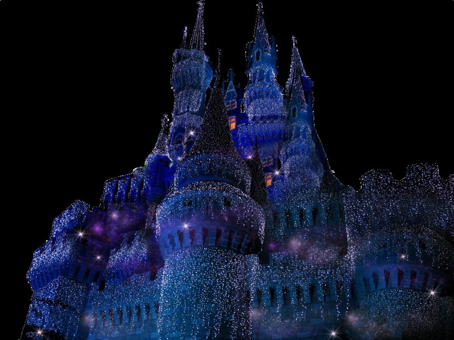 Clipart castle cinderella castle. Icicle light clear cut