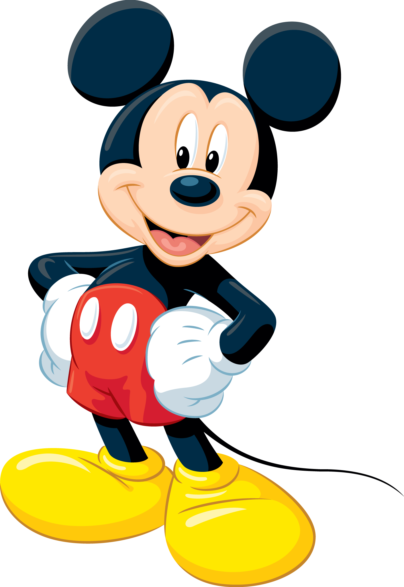 Shy clipart standing. Mickey mouse sammies nd