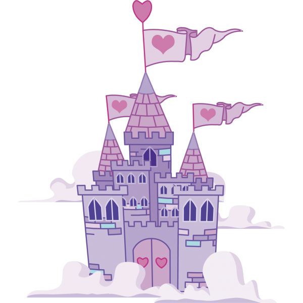 Castillo princesas dibujo lillee. Clipart castle bedroom