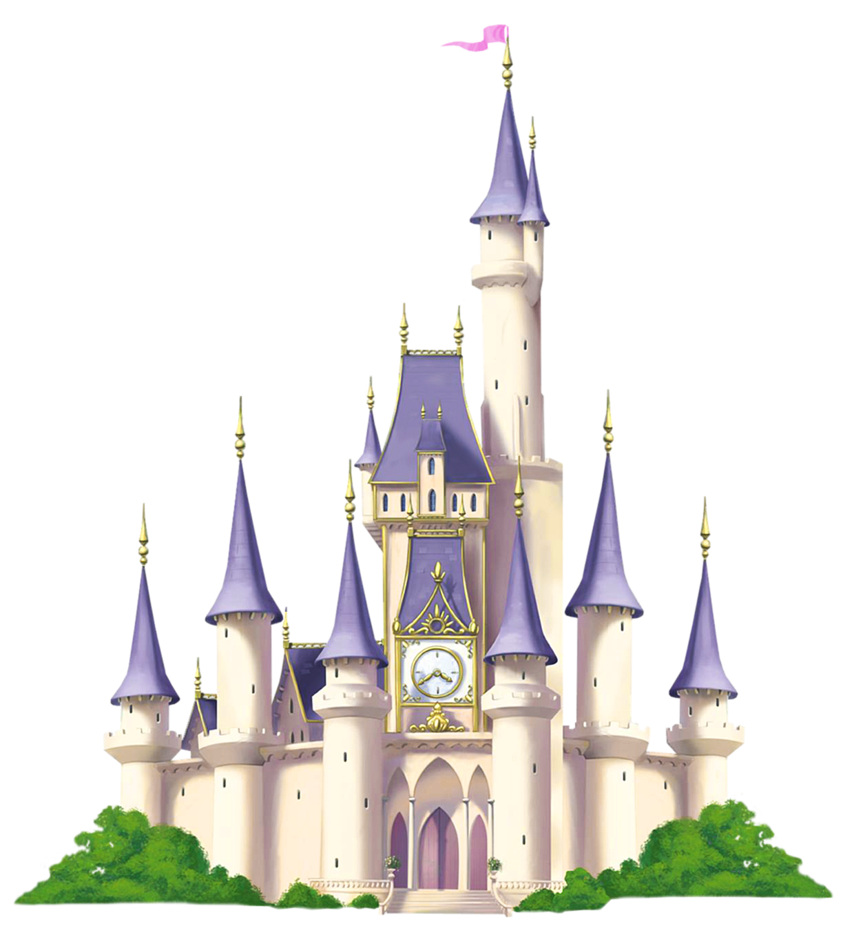 Landscape clipart castle. Transparent png picture gallery