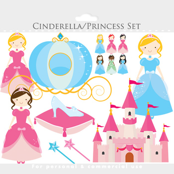 Cinderella clipart jpeg. Princesses castle glass slipper