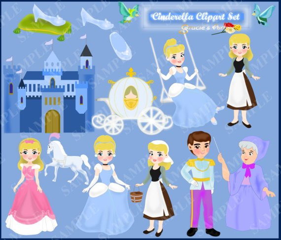Cinderella clipart jpeg. Pin by etsy on