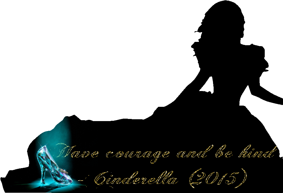 Cinderella clipart shadow. Silhouette png hd transparent