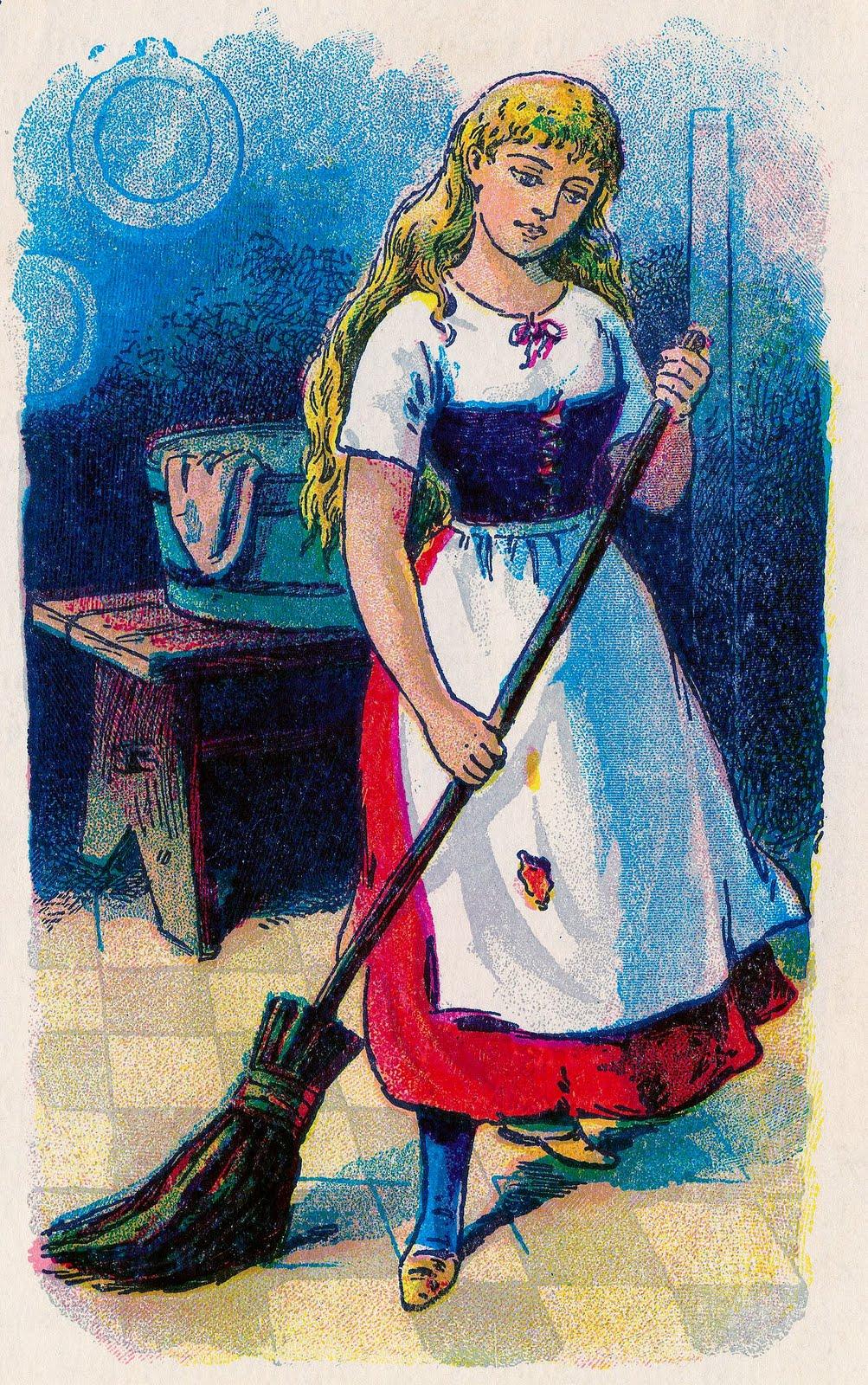fairytale clipart vintage