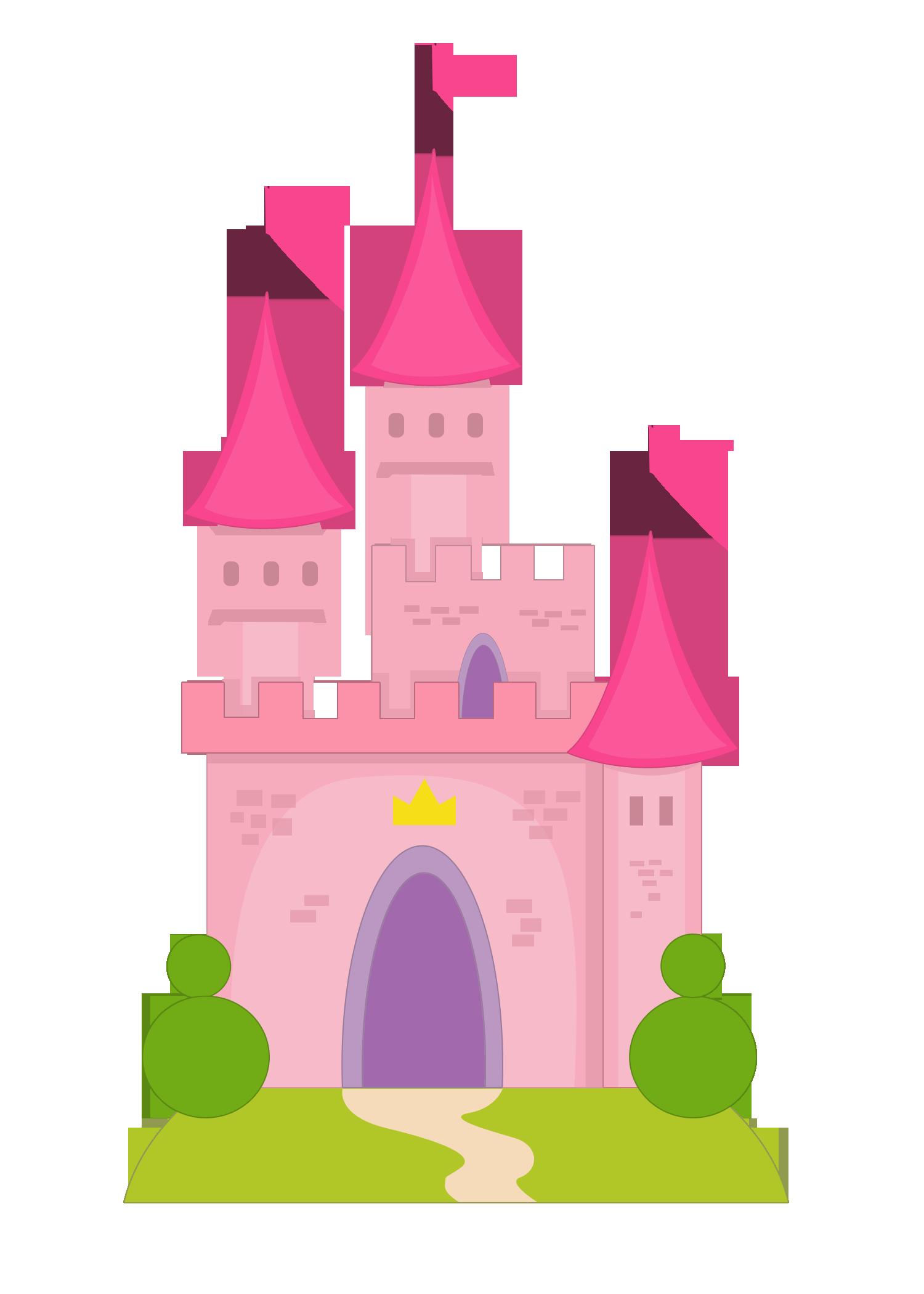 Clipart castle mermaid. Ch b castillos y