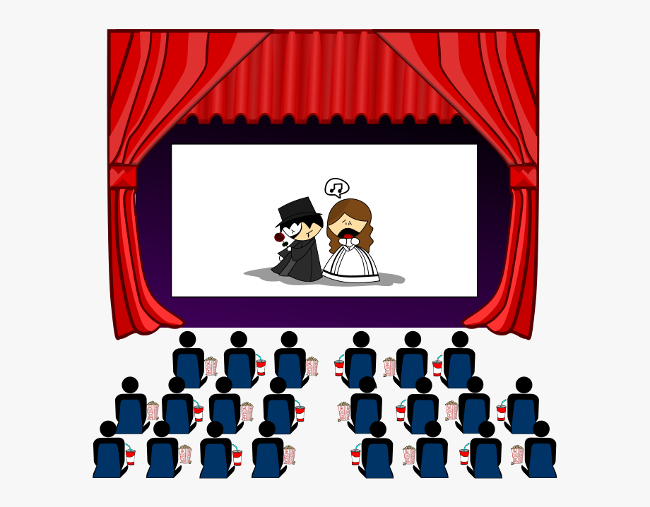 Free clip art images. Movie clipart movie hall