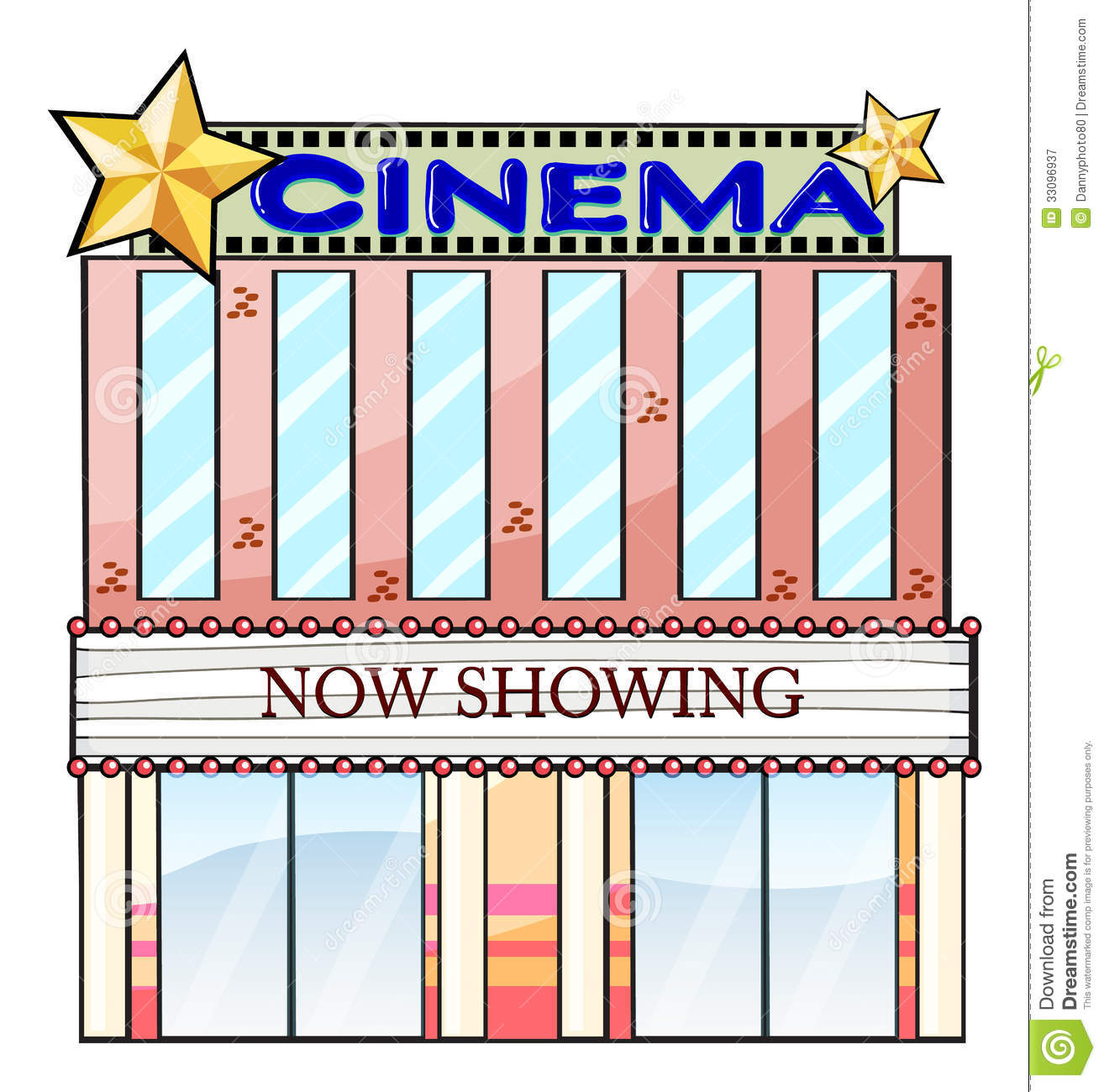 Theater . Cinema clipart