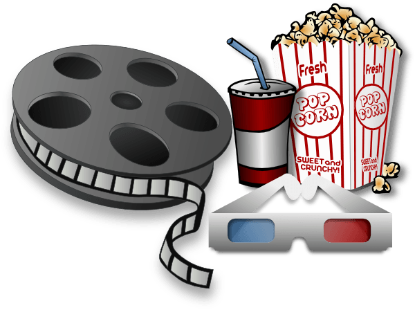 Free movie cliparts download. Cinema clipart