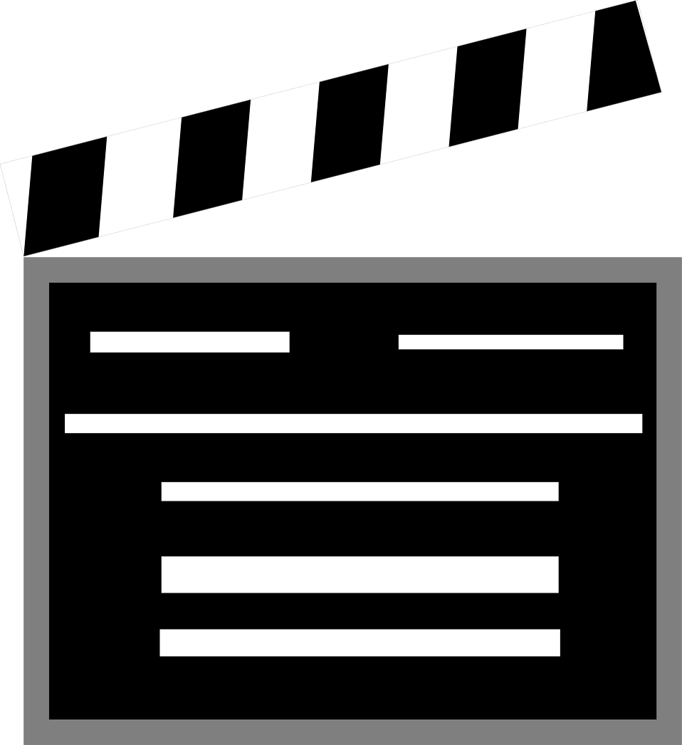 Movie clipart marker board. Movies animated hanslodge cliparts