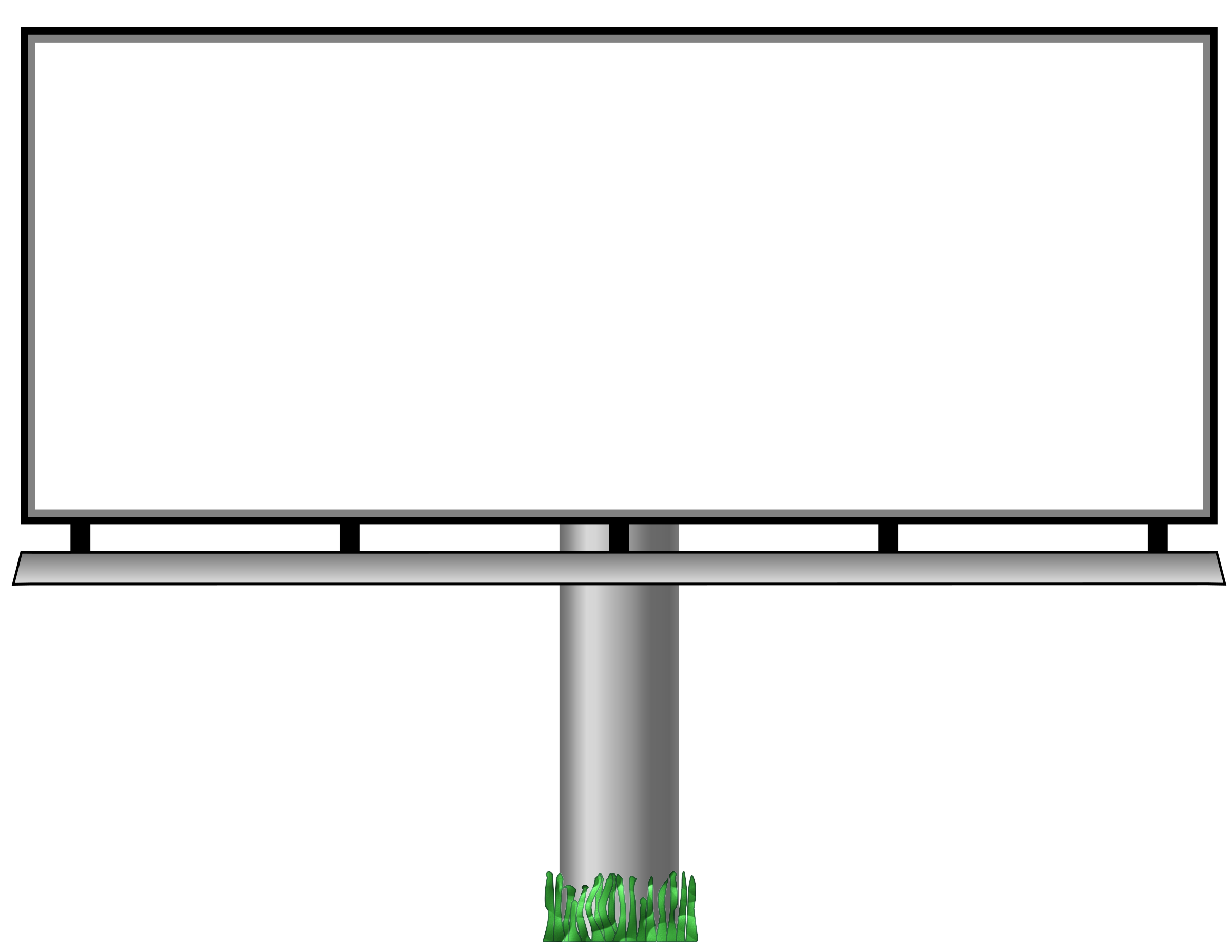 Billboard icons png free. Clipart tv border