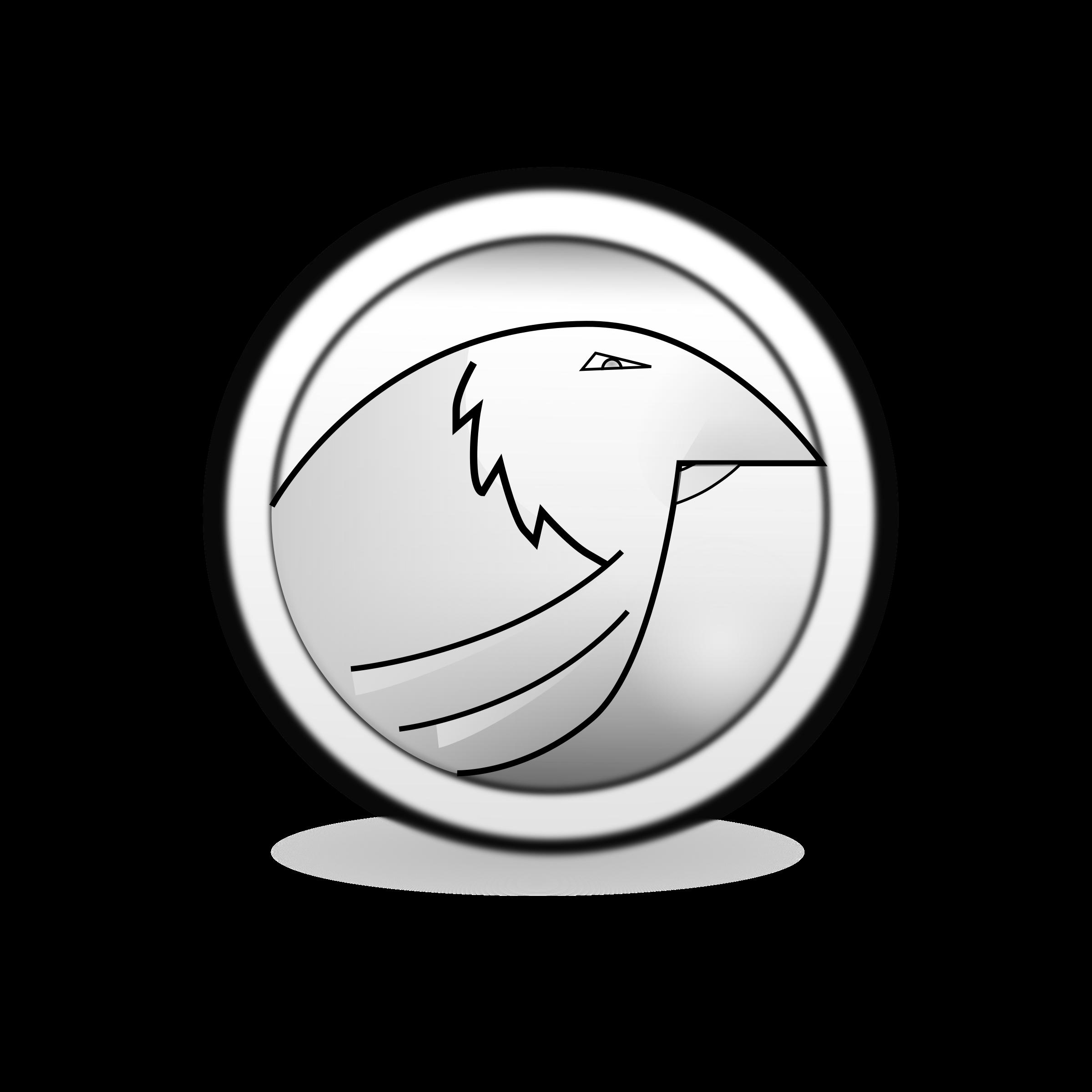 Eagle clipart cheerleader. Logo animal free black