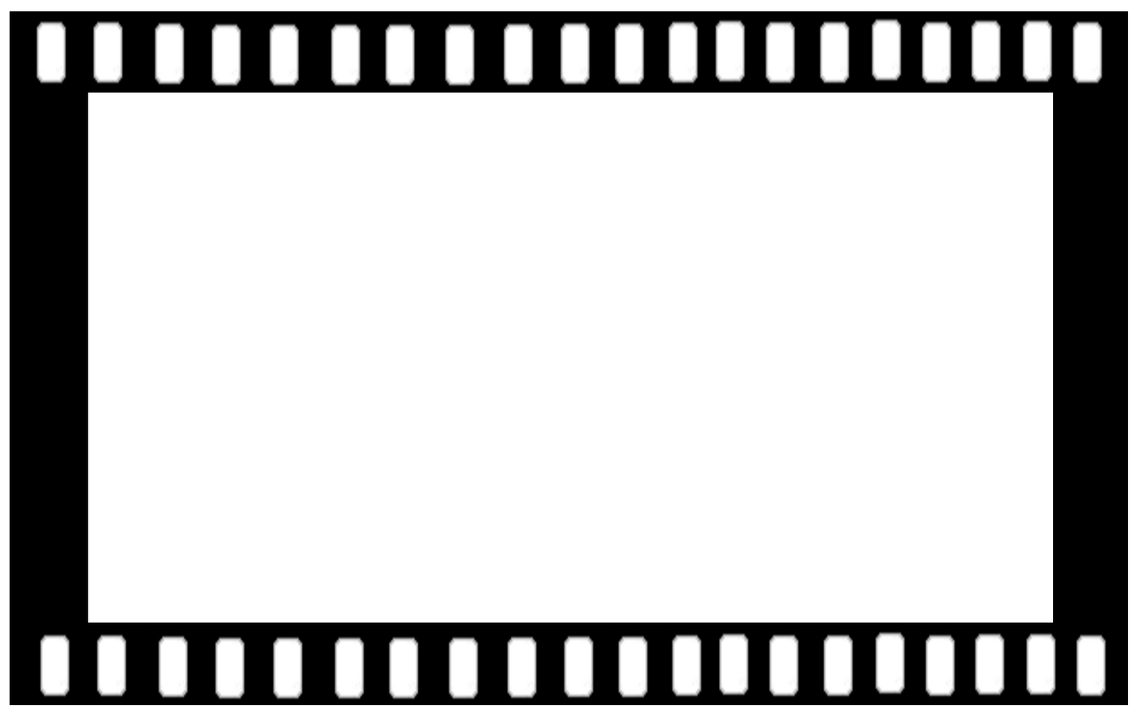 Movie border panda free. Hollywood clipart black and white