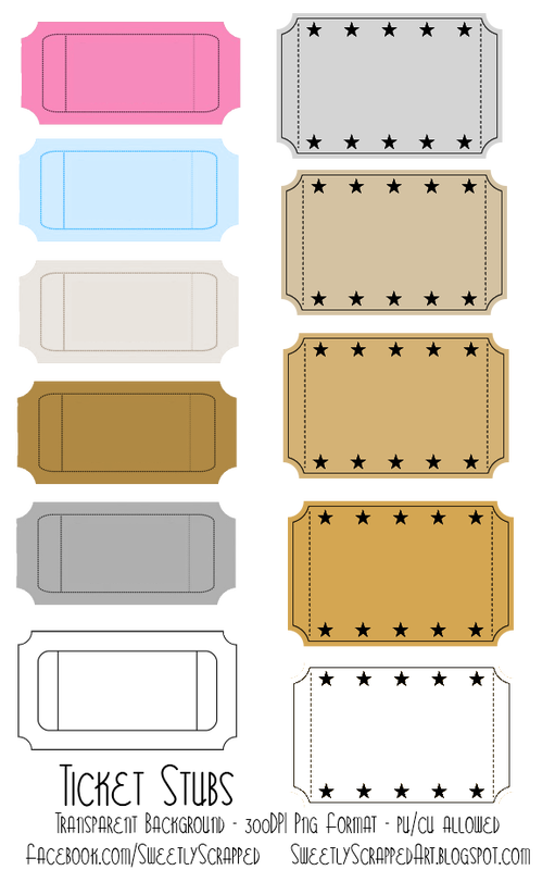 Blank stubs tons of. Ticket clipart single