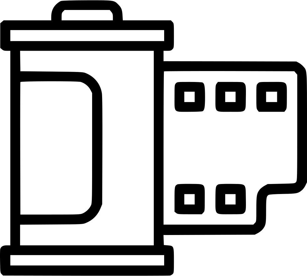 Photo svg png icon. Film clipart camera roll