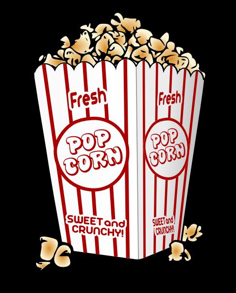 Free movie snacks cliparts. Pop clipart piece