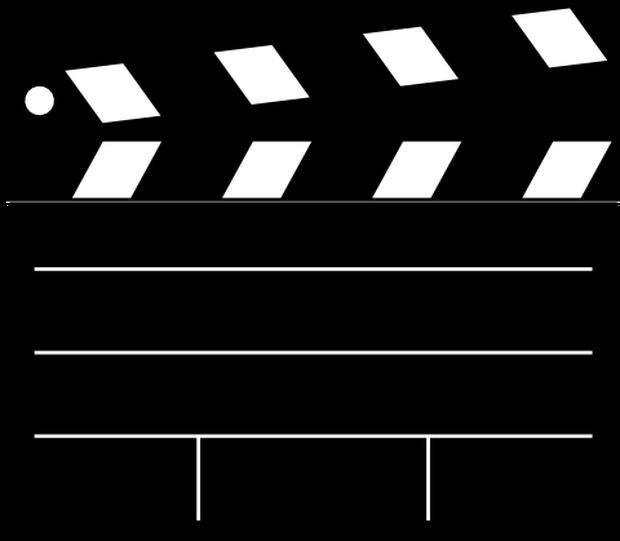 Movie clipart stripe. C mo hacer tu