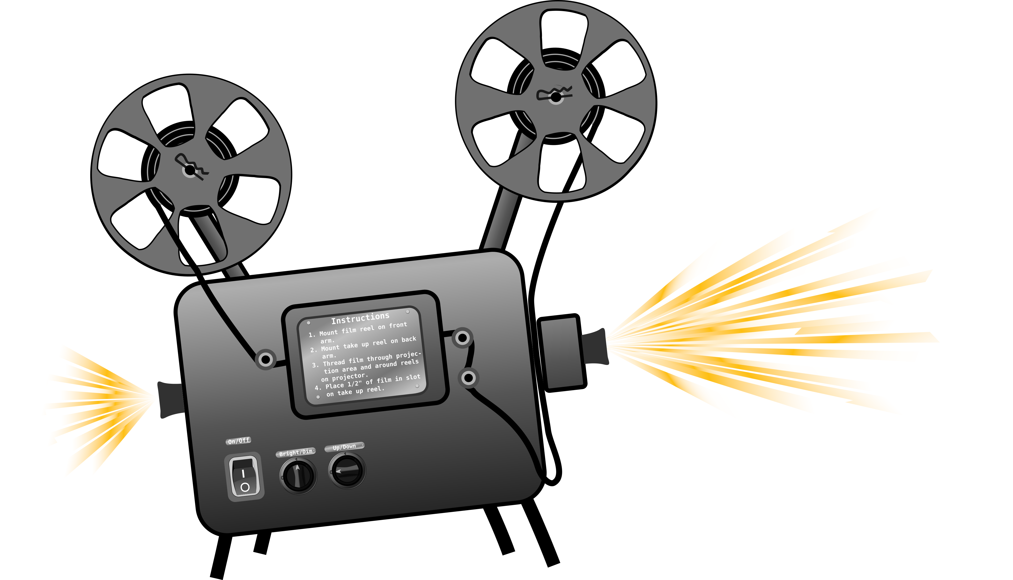collection of projector. Movies clipart movie icon