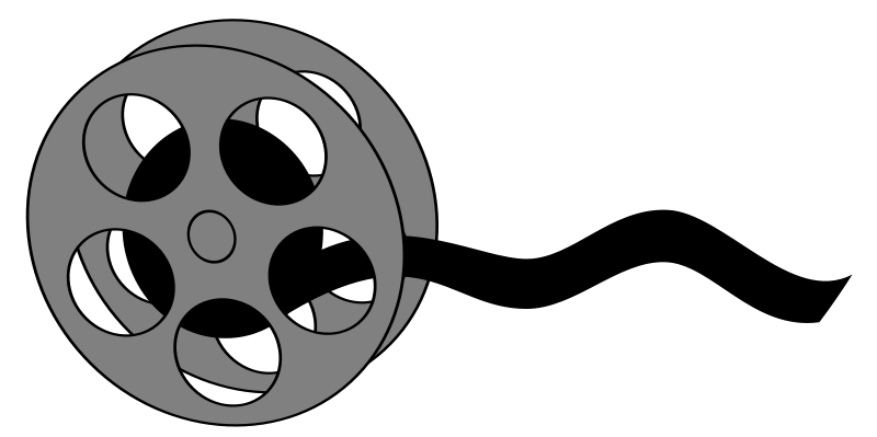 Movie clipart clipboard. Projector panda free images
