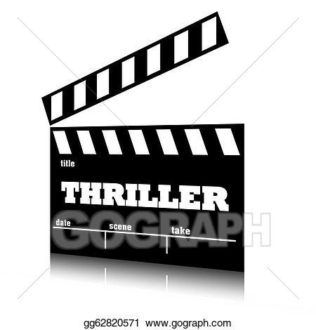 Stock illustration film of. Movie clipart clap