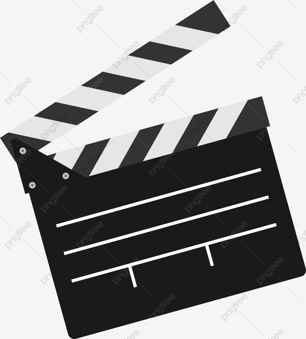 Download for free png. Movie clipart movie clapper
