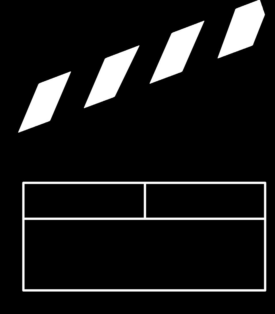 Film clipart movie trailer. Clapboard free stock photo