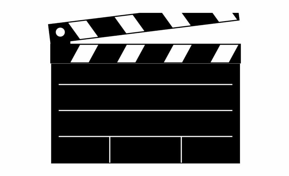 Clapperboard scroll movie clapper. Film clipart clap board