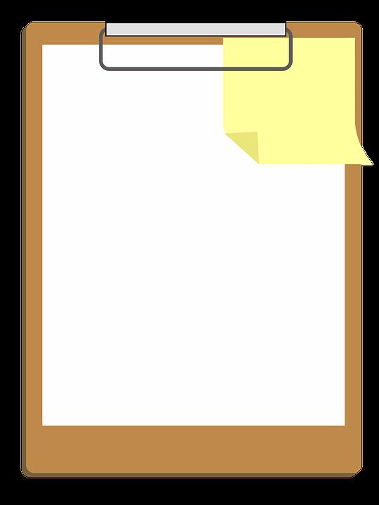 Free photo white design. Scientist clipart clipboard clipart