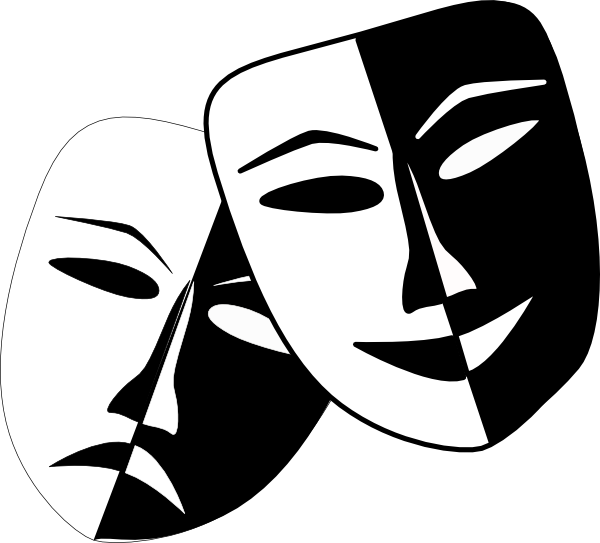 Mask clipart mime. Kind of like the