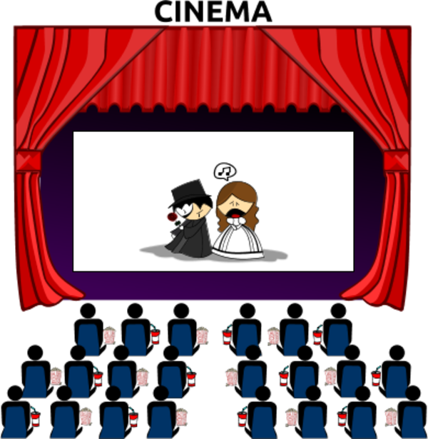 Educational technology lesson the. Television clipart watch movie