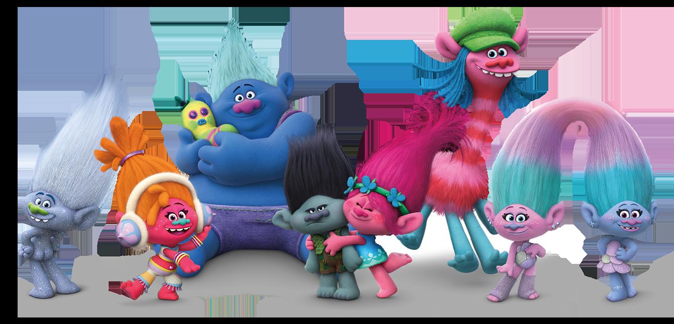 Poppy clipart troll. Treat the kids to
