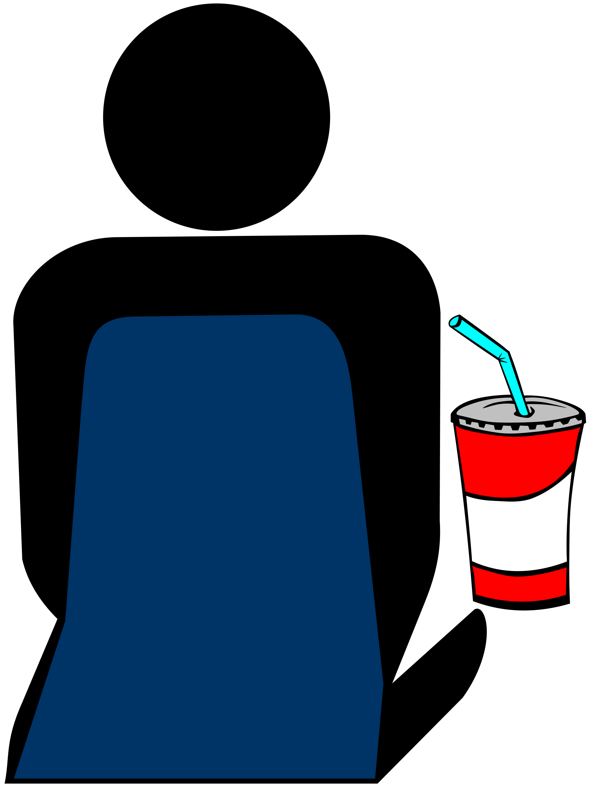 Person at the with. Cinema clipart file