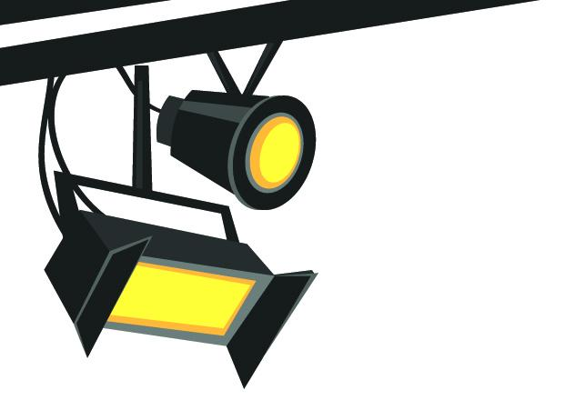 Movies clipart light. Movie lights free download