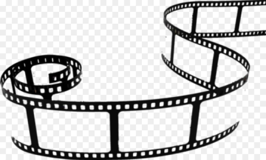 White background cinema line. Film clipart film role