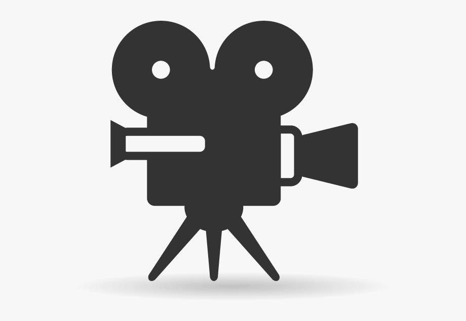 Movie camera clip art. Cinema clipart film screening