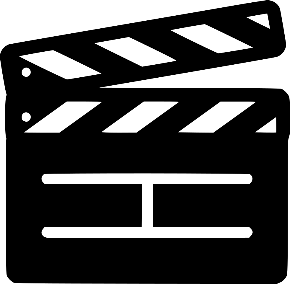 Clapperboard action free on. Movie clipart marker board