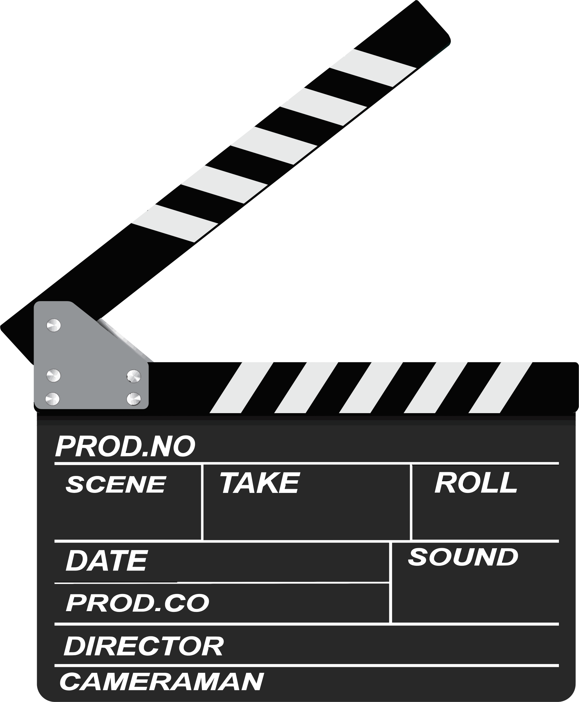Movie clipart movie date. Clapperboard big image png
