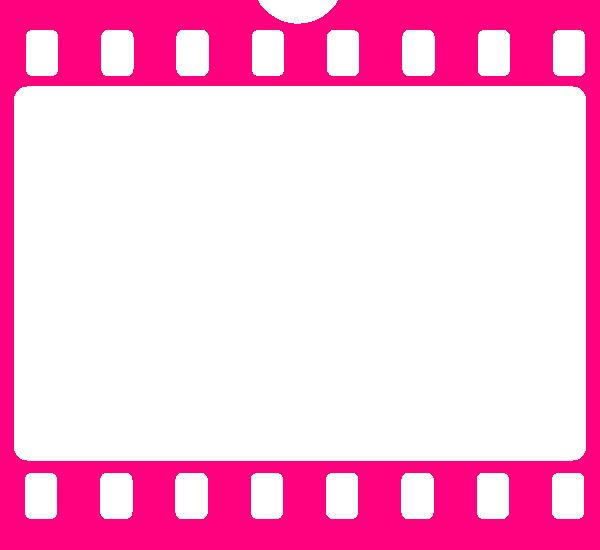 Pink strip clip art. Film clipart film real