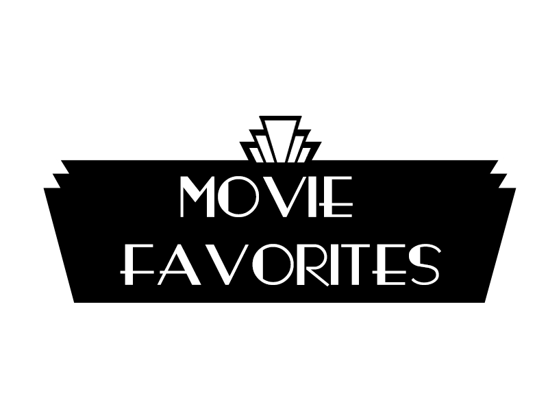 Movie favorites theatre sign. Raffle clipart vintage