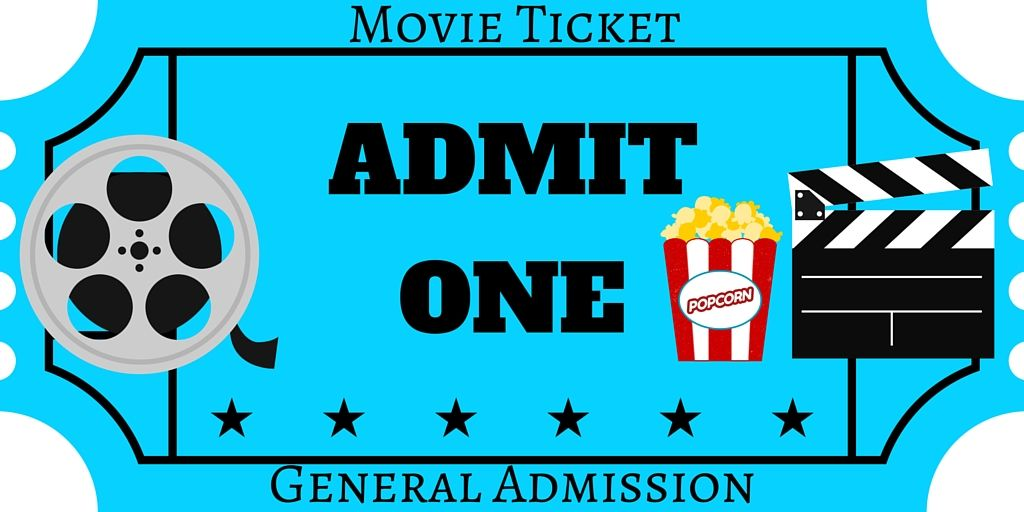 Free printables film festival. Ticket clipart opening night