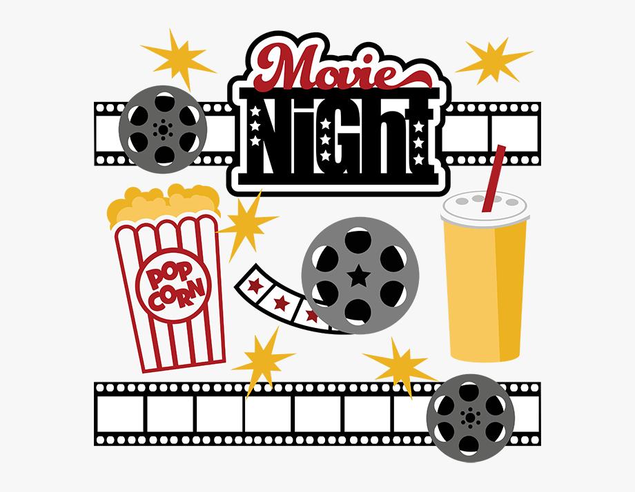 Best clip art . Movie clipart movie night