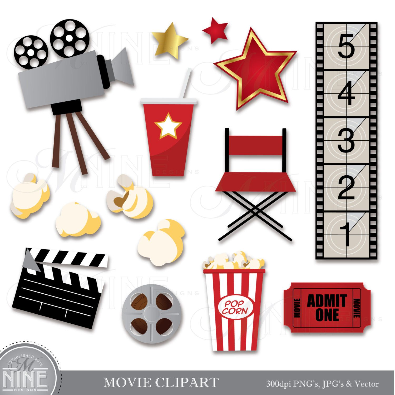 Hollywood clipart theater. Movie clip art download