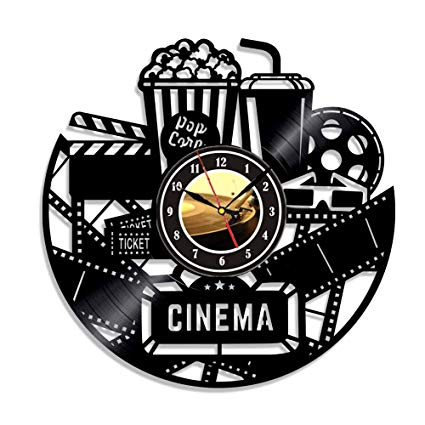 Cinema clipart movie room. Home theater and popcorn