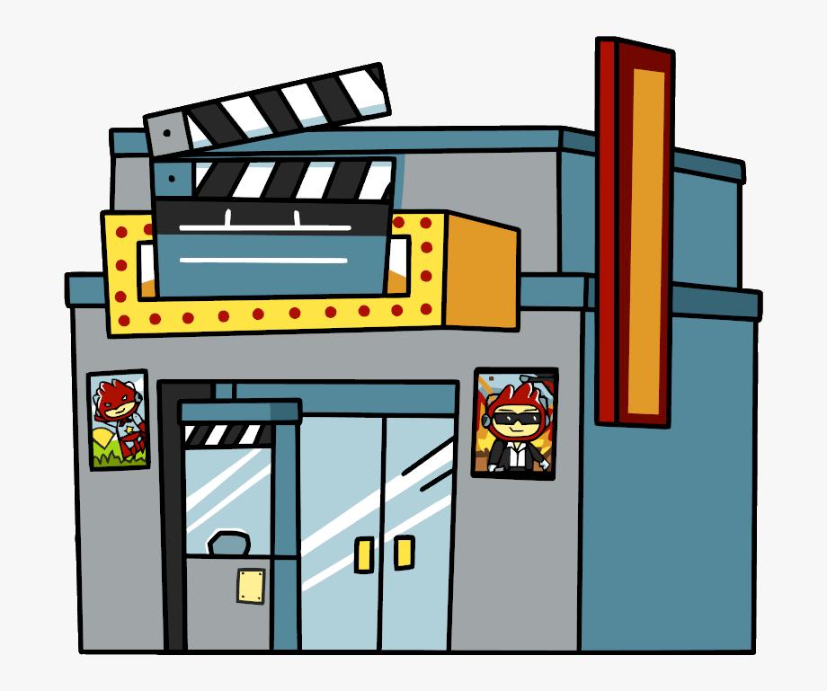 Theatre clipart cine. Cinema movie theater png