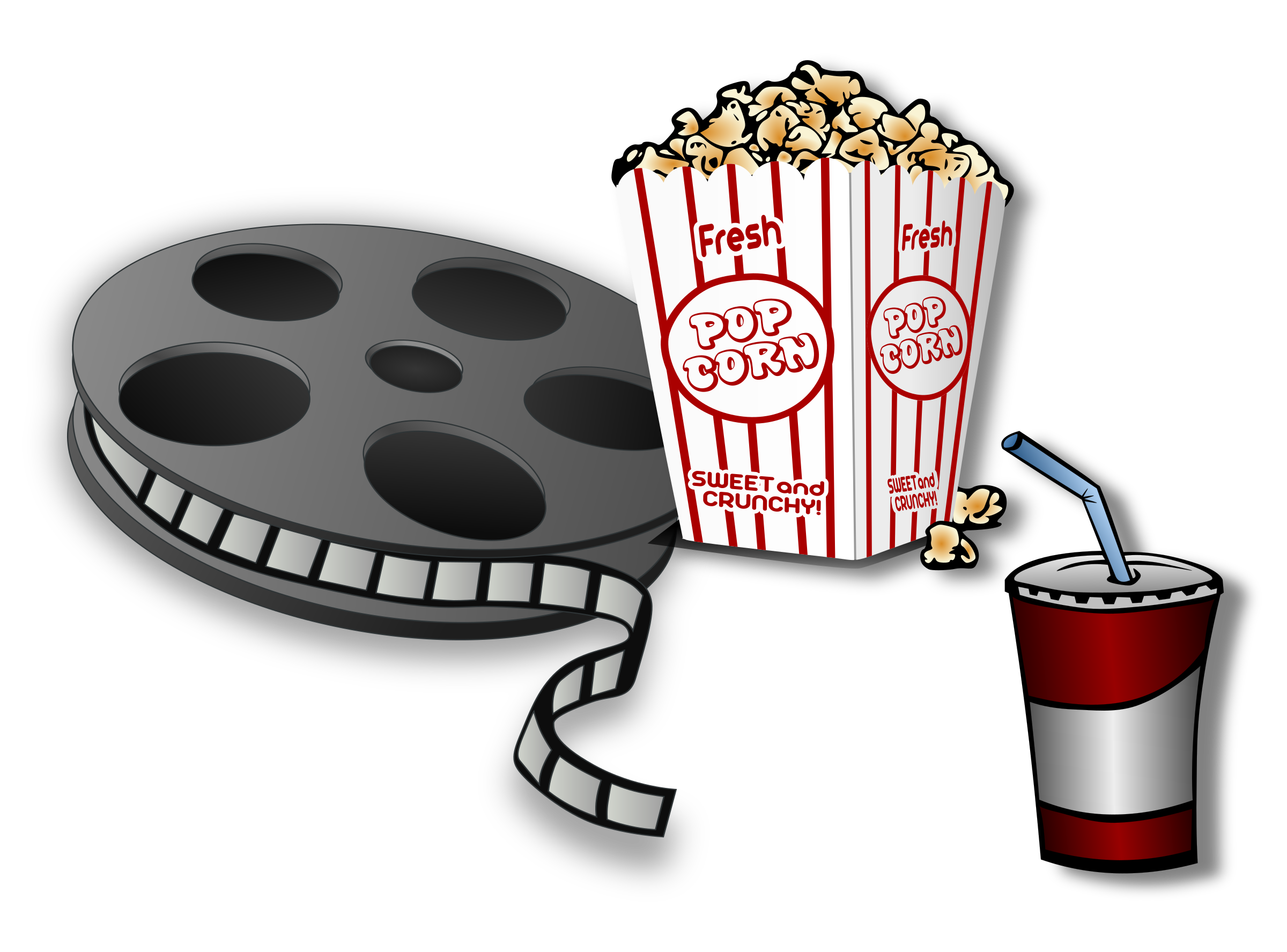 Clipart definition context. Movie time remix icons