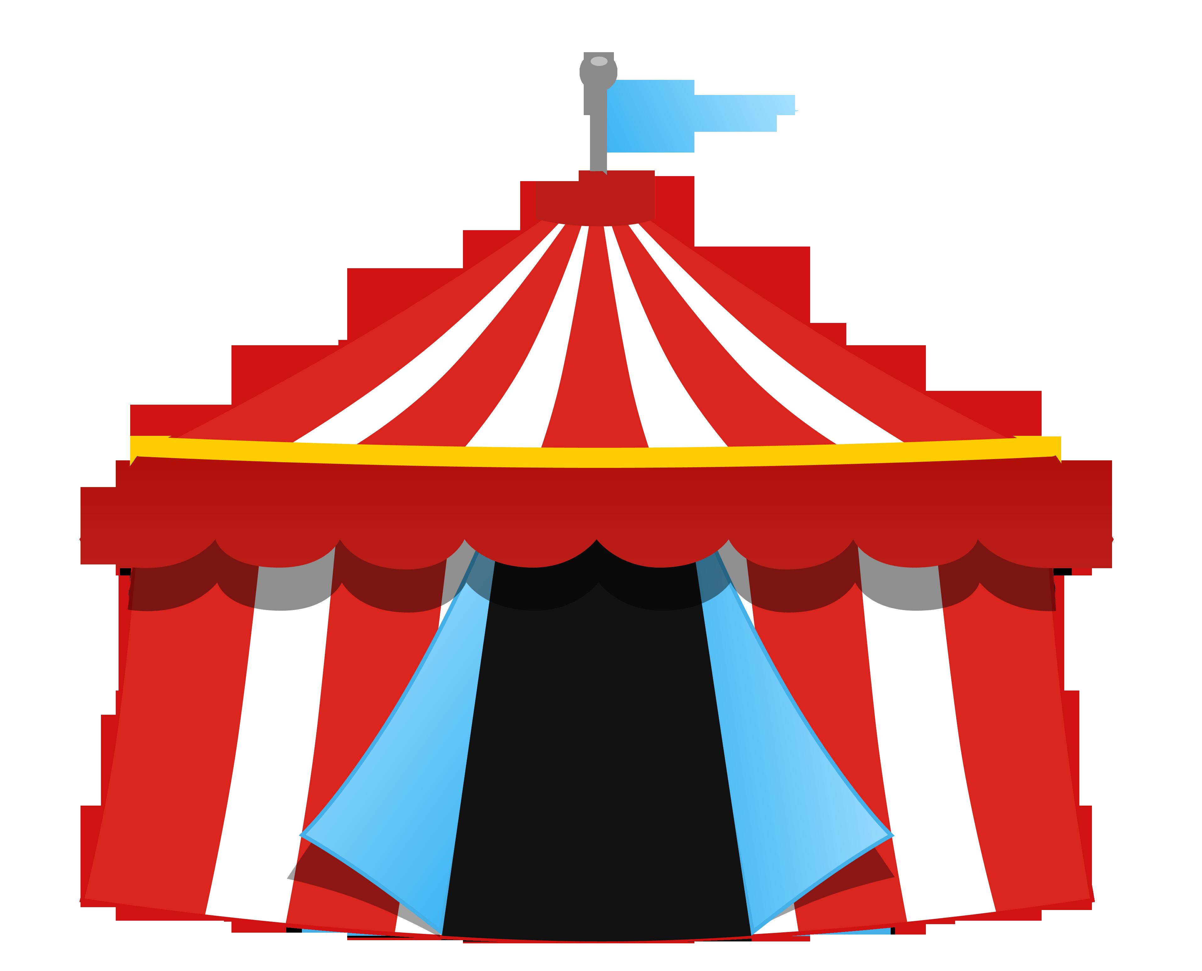 Circo lona tenda png. Circus clipart party tent