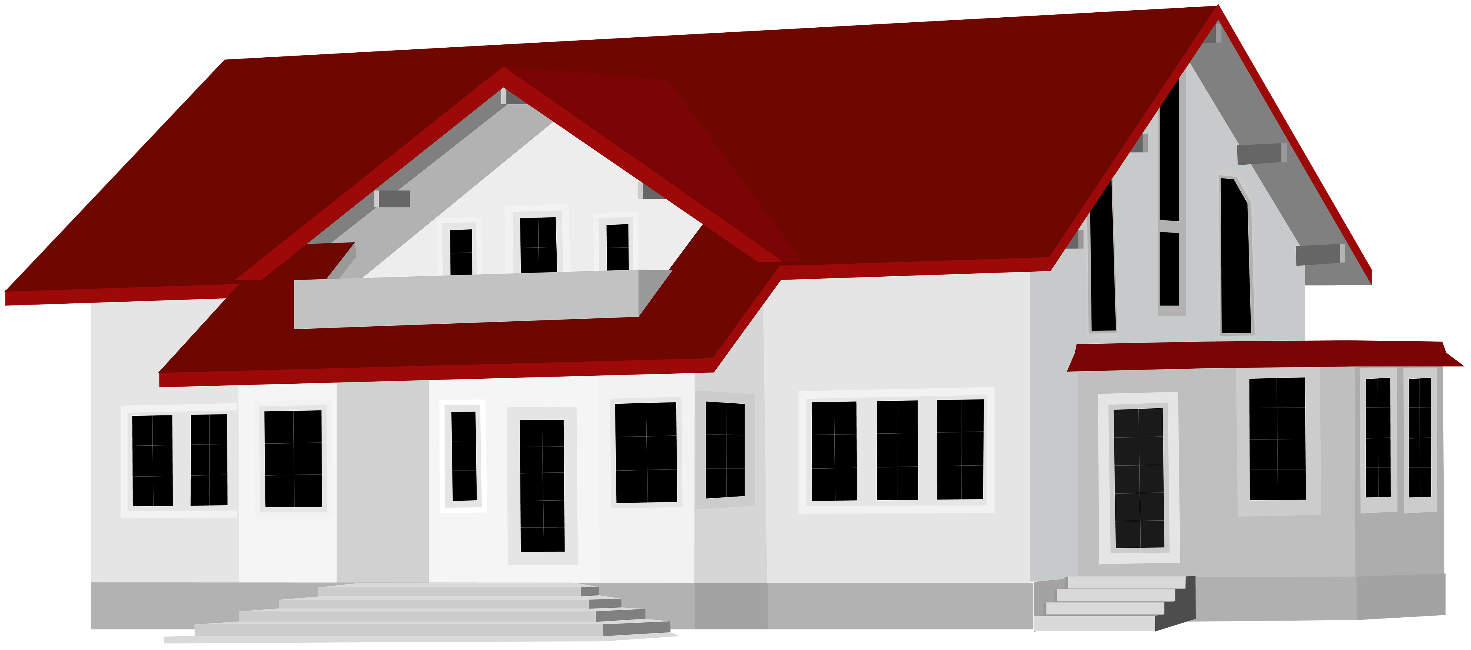 Large house png clip. Up clipart dug