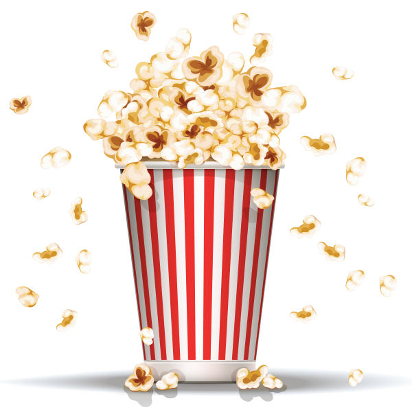 Cinema clipart popcorn. Png images free download